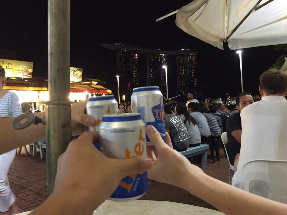 シンガポール タイガービール