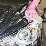 洗車シーン
