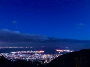 鉢巻展望台 夜景